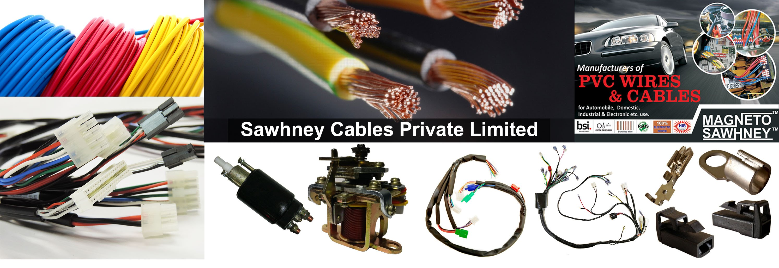 All Kinds Of Pvc Wires Cables Wiring Harness Electrical Auto Automotive Wire Supplier About Us
